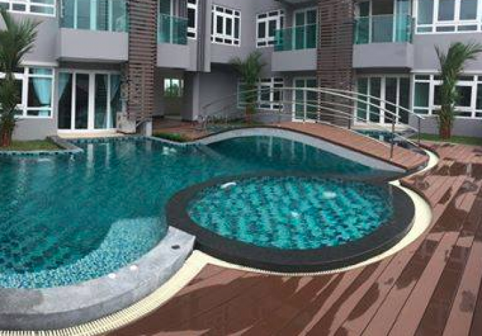 Modern apartments in Nai Harn